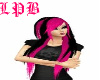 (LPB) PINK AND BLACKHAIR