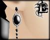 Goth Onyx Earrings
