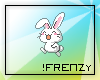 !F Cute Hopping Bunny