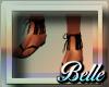 {BB}Frill black Sandal