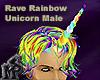 Rave Rainbow Unicorn Hrn
