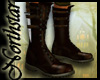 ~NS~ brown boot w/knife