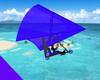 Motor Hang Glider Blue
