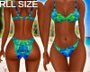 Tropical Rll Bikini Set