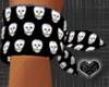 *Wrist Emo Skull Bandana