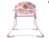 Pink High Chair & baby