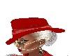 Red orange color Hat
