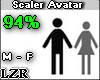 Scaler Avatar M - F 94%