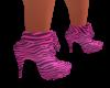 Pink Zebra HiHeel Sneek