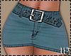 Jean Mini Lit Skirt RL