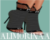 *A*Cute Black/Grey Heels