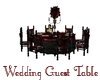 Guest Wedding Table