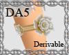 (A) Flower Garter Left