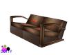 chocolate cherry sofa