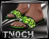 Sandals Camo Green