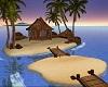 Sunset Island Hut