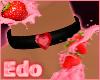Heart diamond Collar-Red