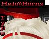 Horns/Halo Pierced