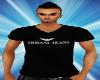 Armani Jeans Black Top