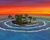 Tiki Huts Sunset Island