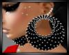 Black Diamond Hoops