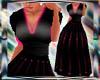 Black n HotPink gown