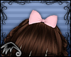 LK~Alice Hair Bow-Pink