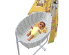 Baby Boy Tyler with crib
