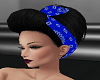 Ari Black w Blue Bandana