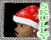 [E] SKULLY CHRISTMAS HAT