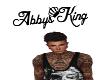 Abbys King Headsign
