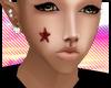 [GOD] 5 Star Face Tattoo