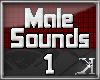 [K] 70 Male Sounds