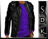 #SDK# Dark Jacket Purple