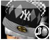 [LF] P-NY Cap - Grey F