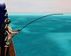 Fishing Pole w/Kisses