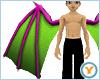 Fld Dragon Wings: PnkGrn
