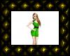 green CAZ dress