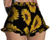!D Sunflower shorts