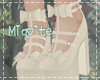 ♡ White doll shoes