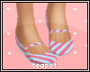 T| Cotton Candy Flats