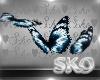 *SK*Butterflies Blue