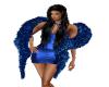 *KB*  Blue Feather Boa