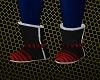 Saiyan Battle Boots RED