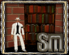 {S}Vintage Bookcase