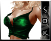 #SDK# Green Sexy Top