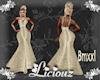 :L:BrideMG GldCrm XXL