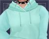 A  Blue Sweatshirt