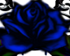 Blue Gothic Roses