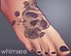 Black Tattoo Feet